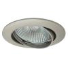 KANLUX Lámpatest álmennyezetbe illeszhető alu MR16 keret VIDI billenő gyöngy nikkel CTC-5515 Kanlux
