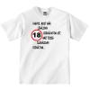 Tréfás póló 18 éves (XXL)