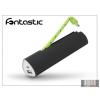 Fontastic Univerzális hordozható akkumulátor töltő USB - micro USB csatlakozóval - Fontastic PB2200 PowerBank - 2200 mAh - black/green