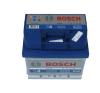 Bosch S4 akkumulátor 12v 44ah jobb+ autó akkumulátor