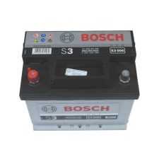 Bosch S3 akkumulátor 12v 56ah bal+ autó akkumulátor