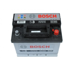 Bosch S3 akkumulátor 12v 56ah jobb+ autó akkumulátor