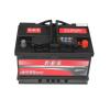 ABS autó akkumulátor akku 12v 72ah jobb+