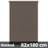 Blackout roló, narancs, mokka: 82x180 cm