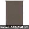 Blackout roló, narancs, mokka: 142x180 cm