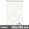 Hőszigetelő roló, Thermo, natúr, ablakra: 102x180 cm