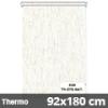 Hőszigetelő roló, Thermo, natúr, ablakra: 92x180 cm