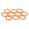 Phobya O-gyûrû 11,1 x 2 mm (G1 / 4 Coll) - UV reaktív narancs 10 db.