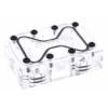AlphaCool GPX SLI híd - Dual - Plexi