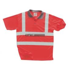 Portwest S477 Jól láthatósági pólóing (PIROS M)