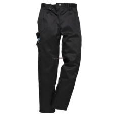 Portwest C099 Női Combat nadrág (Fekete, XXXL, Normál)