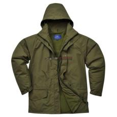 Portwest S530 Arbroath lélegző polár béléses kabát (ERDŐZÖLD S)