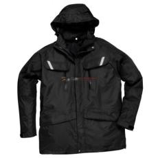 Portwest S537 Orkney 3:1 lélegző kabát (FEKETE XL)