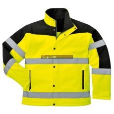 Portwest - S429 Kéttónusú Softshell kabát (SÁRGA M)
