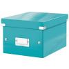 Leitz Irattároló doboz, A5, lakkfényű, LEITZ