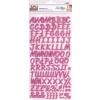 APLI Matrica, ABC, , rózsaszín