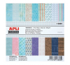 APLI Mintás kartonpapír Scrapbooking-hoz, 15,2 x 15,2 cm, ,