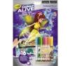 Crayola Color ALIVE Elvarázsolt kert kréta, festék és papír