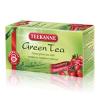TEEKANNE zöld tea tőzegáfonya-málna  - 20 filter