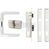 Anbo 1231 Csapdás portálzár garnitúra 40 mm (fehér)