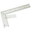Asztalos derékszög, alumínium ; állítás:0-90fok 400mm (Asztalos derékszög)