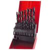 Fémfúró klt. HSS; 19db, 1-10mm, (fémdobozos) (Fúró)