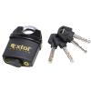 Extol Biztonsági lakat, levágás elleni védelemmel, festett, vízálló, 4db kulcs; 50mm (Lakat)