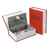 Extol Pénzkazetta, könyv típusú, 2db kulccsal, festett acél, műanyag/papír borítás (Pénzkazetta)