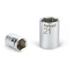 "Fortum Dugófej, 1/4"", 10mm, 61CrV5, mattkróm, 25mm hosszú (Dugófej)"