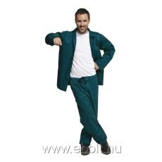 Cerva Öltöny deréknadrág+kabát zöld BE-01-001 48