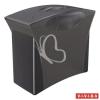 """ESSELTE Függőmappa tároló, műanyag, 5 db függőmappával, mobil, ESSELTE """"Europost"""", Vivida fekete"""