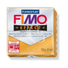 "FIMO Gyurma, 56 g, égethető, FIMO ""Effect"", metál arany"