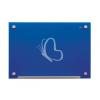 """NOBO Mágneses üveg tábla, 60x90 cm, NOBO """"Diamond"""", kék"""