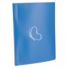 """VIQUEL Bemutatómappa, 10 zsebes, A4, VIQUEL """"Standard"""", kék"""