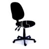 """MAYAH Irodai szék, fekete szövetborítás, fekete lábkereszt, MAYAH """"Happy Plus"""""""