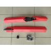 Univerzális kerékpár sárvédő készlet piros