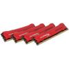 Kingston HyperX Savage 32GB 1600MHz DDR3 memória Non-ECC CL9 Kit of 4