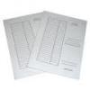 IRATGYŰJTŐ (PÓLYÁS DOSSZIÉ) A/4 PD/VIC fehér karton, táblázatos