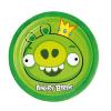 Riethmüller Angry Birds Zöld Malac Parti Tányér 18 cm, 8 db-os