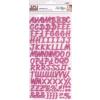 APLI Matrica, ABC, APLI, rózsaszín (LCA13976)