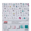 APLI Mintás kartonpapír Scrapbooking-hoz, 30,5 x 31,5, APLI, World (LCA13932)