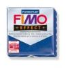 Gyurma, 56 g, égethető, FIMO Effect, csillámos kék