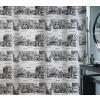 Spirella 10.16748 Places zuhanyfüggöny 180x200, black