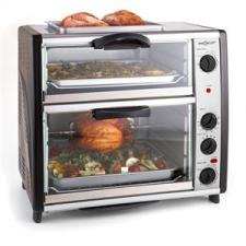 oneConcept All-You-Can-Eat, 42 liter, dupla sütő grillező lemezzel sütés és főzés