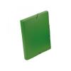 VIQUEL Iratgyűjtő gumis A/4 PP 30mm Coolbox, zöld