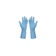 Háztartási gumikesztyű (kék), méret: 10