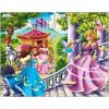 Larsen midi puzzle 11 db-os Hercegnők U8