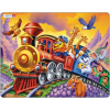 Larsen maxi puzzle 30 db-os Cirkuszi vonat maxi Us14