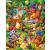 Larsen maxi puzzle 25 db-os Állati banda US8