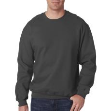 GILDAN kereknyakú pulóver, sötétszürke